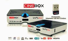 Jean Importados® - Receptores de TV: Cinebox-Fantasia-Full-HD