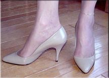Classic Pumps Rossi style is identical to the Lola style but has a 3.5 inch heel. $95