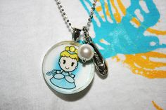 Cinderella Princess Necklace $10