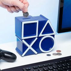 Playstation 5, You Loose, Money Box, Consumer Products, Lego Star Wars, White Ceramics, Cool Designs, Presents, Product Launch