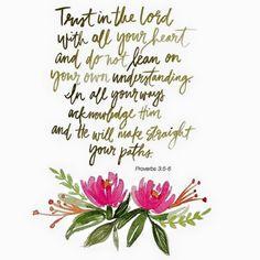 Prov 3:5-6