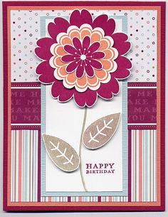 Petal Pizzazz Happy Me 2 by Julie Bug - Cards and Paper Crafts at Splitcoaststampers