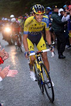 Vuelta a España 2014 - Stage 9: Carboneras de Guadazaón - Aramón Valdelinares 185km - Alberto Contador (Tinkoff-Saxo)
