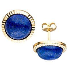 Damen-Ohrschmuck Ohrstecker 2 Lapis Lazulis 8 Karat (333) Gelbgold Dreambase http://www.amazon.de/dp/B0147RSMLK/?m=A37R2BYHN7XPNV