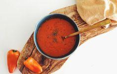 Recept: Zuppa di peperone rosso - paprika soep - Me Myself