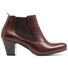 LANNI | Midas #classic #chelsea #boots #heels #madeinitaly #leather #midas #midasshoes