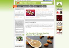 Raw Food Recipes (multiple authors) http://www.rawfoodrecipes.com