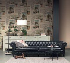 Invitați în viața dumneavoastră romantism, stil, bună-dispoziție și seninătate, transformând orice cameră din casa dumneavoastră într-o încăpere deosebită cu ajutorul unui tapet expresiv.