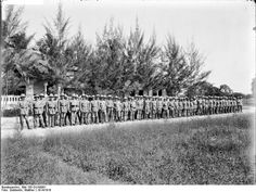 Schutztruppe (English: Protection force) was the African colonial armed force of Imperial Germany from the late 19th century to 1918, when Germany lost its colonies. At the outbreak of World War I, the Schutztruppe in German East Africa was organized into 14 field companies. Colonial volunteer contingent, German East Africa, 1914. The Schutztruppe in East Africa became the last German formation to surrender – days after the armistice in November 1918.