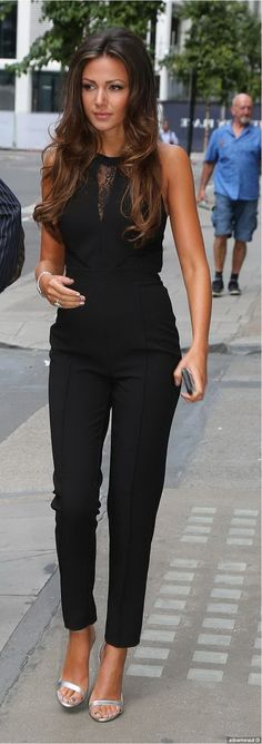 Jumpsuit-love the small lace details on this jumpsuit