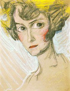 A4 Poster, Poster Prints, Pastel Portraits, Vintage Artwork, Illustration Art, Illustrations, Sketches, Fine Art, Drawings