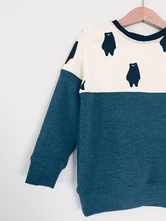 Leuk met restjes Sewing For Kids, Baby Sewing, Lucas 6, Color Blocking Outfits, Little Boy And Girl, Diy Sweatshirt, Boys Wear, Girls Wardrobe, Diy Clothes