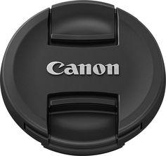 Canon - E-58 II Lens Cap - Black, 5673B001