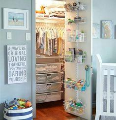 Organización interior armarios niños