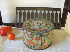 Large Vintage French berlingots  candies fruits by sweetbrocante