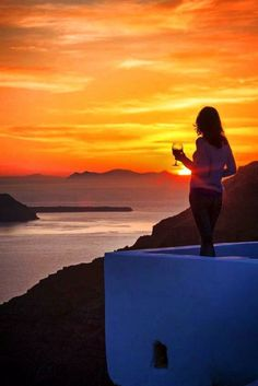 Yet another spectacular sunset in Oia village, Santorini island, Greece. - Selected by www.oiamansion.com