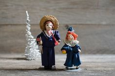 Vintage Small People by Cecily Hand Made & Hand by HouseofSeance