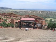 Red Rocks - Colorado - they hold Easter sunrise services at this fabulous amphitheatre! And Concerts galore!!
