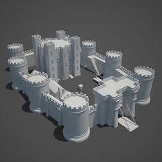 Medieval Castle Model available on Turbo Squid, the world's leading provider of digital models for visualization, films, television, and games. Isometric Drawing, Building Concept, Dungeon Maps, Fantasy Map, Game Concept Art, 3d Prints, 3d Max, Medieval Castle, Minecraft Buildings