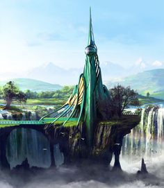 Emerald Tower by *Edli on deviantART