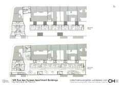 149 Rue des Suisses Apartment Buildings by Herzog & de Meuron | Collective Housing Atlas