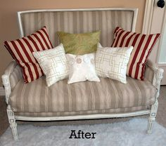 recovered love seat