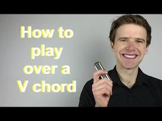 How to play over V (five) chord of 12 bar blues (Essential blues harmonica lessons) - YouTube