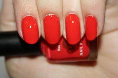Some Like it Hot - bright coral red