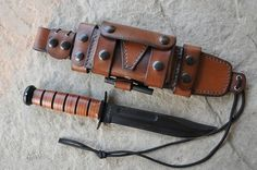 Skystorm Leather - custom made sheaths