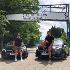 Yesterday we drove down to Stuttgart we done 11 hours of driving covered 477 miles and all on 4 hours sleep! We stopped at both Spa Francorchamps and the Nürburgring but will be stopping at the ring for longer on our return! Today we have a private AMG factory tour in Affalterbach and are visiting Sindelfingen   Mercedes-Benz CLA45 & A45 AMG   Captured by @letstorqueaboutit  #letstorqueaboutit #mercedes #mercedesbenz #mercedesamg #amg #drivingperformance #onemanoneengine #thebestornothing…
