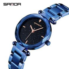SANDA Brand Luxury Women Watches Fashion Starry Sky Full Black Quartz Wristwatch Stainless Steel Simple Ladies Watch bayan saat From Touchy Style Outfit Accessories ( Gold ) |Cute Phone Cases |Casual Shoes| Cool Backpack| Charm Jewelry| Simple Cheap Watches, and more.
