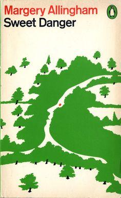 Margery Allingham's Sweet Danger, designed by Minale/Tattersfield/Provinciali.