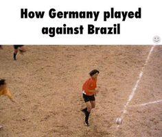 Not really. Brazil just sucks