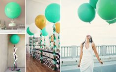 Underbara bröllpsballonger