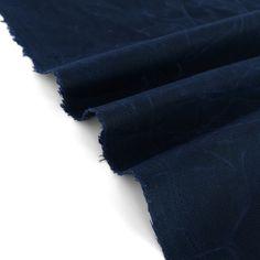 Waxed Cotton Canvas - Navy | Blackbird Fabrics Waxed Canvas, Cotton Canvas, Woven Fabric, Winter Jackets, Blackbird, Beauty, Fabrics, Rain, Note