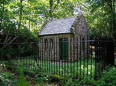 The Hermitage, Friars Carse Ancient Names, Diamond Point, Garden Office, Old Buildings, Restoration, Shed, Cabin, Windows, Architecture