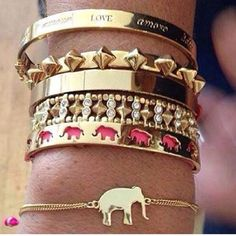 Let's build your arm candy collection! www.stelladot.com/sites/acrute I want the elephant bracelet