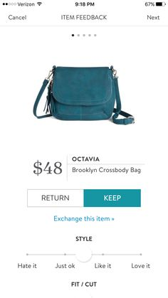 Stitch Fix Octavia Brooklyn crossbody bag