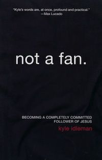 There are fans of Jesus....there are followers of Jesus.  This book will SHOCK you!    Not a Fan--Book Review by Tim Challies - recommended by Kim Brush and Vicki Brooks