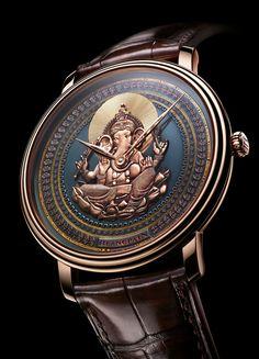 La Cote des Montres : La montre Blancpain Villeret collection Shakudō - Blancpain et les Métiers d'art : le Shakudō, un alliage principalement composé de cuivre et d'or