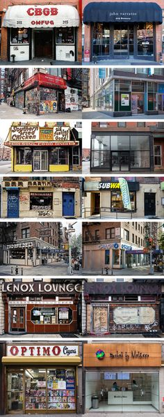 New York's Changing Storefronts, In Photos