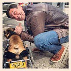 Pablo Schreiber broke wrist on set of 13 Hours Pablo Schreiber, Tell Me Something Good, On Set, Hot Guys, Twitter