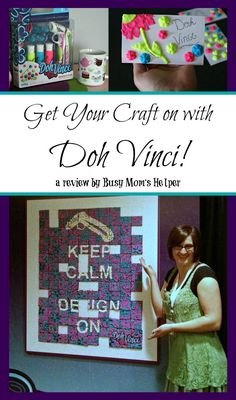 Get Your Craft on with Doh Vinci / review by Busy Mom's Helper @msbarbarac