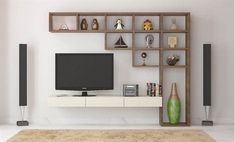 Living room tv furniture wall units, 7 cool contemporary tv wall unit designs for RFGNPHB - Home Decor Ideas Living Room Wall Units, Living Room Cabinets, Living Room Designs, Wall Cabinets, Wooden Cabinets, Tv Wall Ideas Living Room, Living Rooms, Kitchen Cabinets, Tv Stand And Entertainment Center