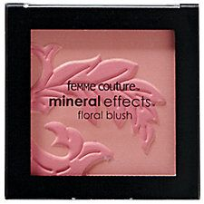 Femme Couture Mineral Effects Floral Blush Soft Spoken Pink  By: Femme Couture   Beauty Club Card: $9.39  SBS-827019