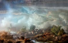KIM KEEVER'S WATER TANK DIORAMA PHOTOGRAPHY