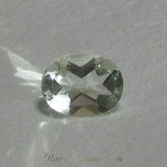 Very Light Green Amtehyst Oval 1.5 cts