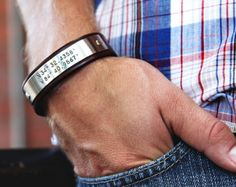 Custom Coordinates Bracelet Personalized von MavenMetalsInc