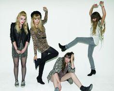 Plastiscines Hot Girls, Icons, Style Inspiration, Rock, My Style, Music, Musica, Musik, Symbols