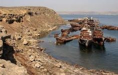 Image result for aral sea shipwrecks